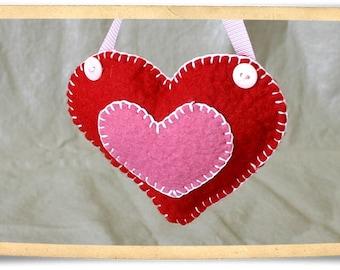 Felt Heart Pattern
