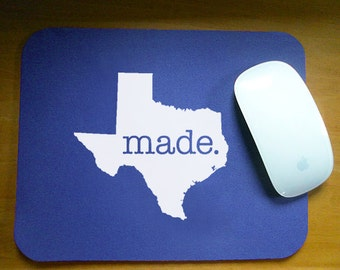 Texas 'Made' Computer Mouse Pad