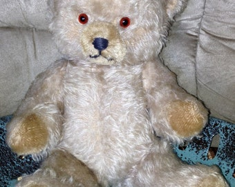 Vintage Mohair Teddy Bear 18 inches Jointed