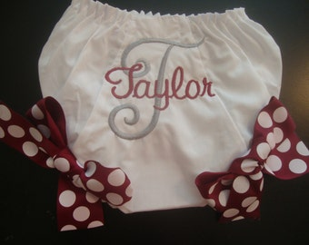 Aggie Baby Girl Bloomers