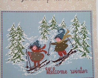 Lilli Violette - 'Welcome Winter' Cross Stitch graph - creazioni...e punti colorati