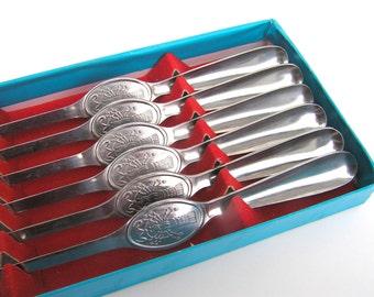 Seafood forks Lobster forks Seafood fork set Pick cutlery Vintage seafood flatware set of 6 Seafood cutlery Lobster cutlery