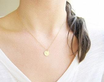 14k Little Dots Necklace