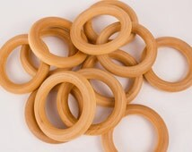5 Wooden Teether Ring