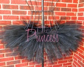 Astrid - Black Tutu - Halloween - Birthday Tutu - Available in Infant, Toddler, Girls, Teenager and Adult Sizes