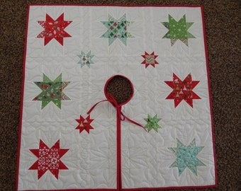 Tree Skirt with Stars
