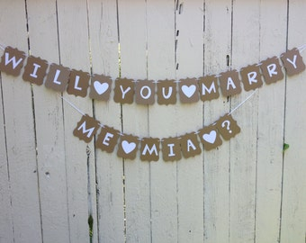 Proposal Banner - Will you Marry me
