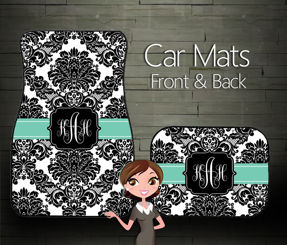 Custom Car Mats Personalized Car Mats By BoutiqueMonogram
