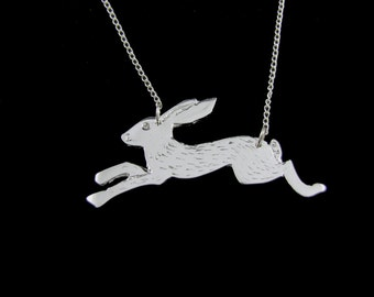 Leroy Hare                        -silver hare necklace