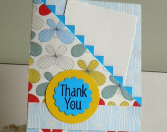 Thank You, Special Card, Gift Card, Pocket Gift Card,  Thanks, Appreciate, Kindness, Kind, Handmade, Gracias, Merci, Unique