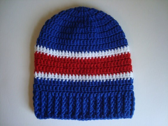 Buffalo Bills OR New York Giants Crochet Slouch by ...