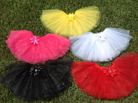 Mickey Mouse and Minnie Mouse Birthday Party Colors Tutu party Favors, Minnie Tutu party Favors