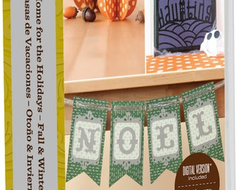 HOME for the HOLIDAYS  - Cricut CARTRIDGe -FALL & WINTeR COLLeCTION - New and Sealed  For All Cricut Machines !