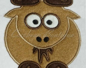 embroidery applique Wildebeest