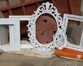 Shabby Chic Frame Set - Ornate Picture Frames - Picture Frames