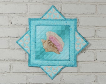 Conch Shell Wall Quilt Pattern