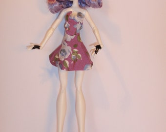 The Handmade Skirt and Top M.H. dolls - Handmade M.H. dolls  Clothes