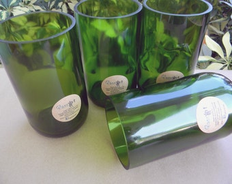 Champagne Bottle Tumblers - Set of Four (4)