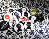 221B Special - Set of 5 Sherlock Resin Pins