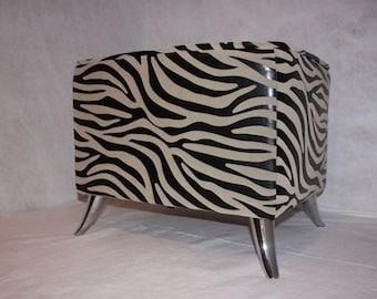 Zebra Bed Front Bench