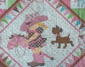 Giddy Up Its A Western Rodeo - Adorable Crib or Toddler Quilt for a Girl or Twins From Northcott & Janet Selck