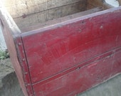 Antque Wood Shippng Crate