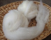 Oregon-grown Romney Wool hand-pulled carded roving