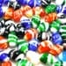 20 Pcs Handmade Lampwork Glass Rice Beads, Mixed Colors -11mm Wide, 16mm Long, and 2mm Hole B017