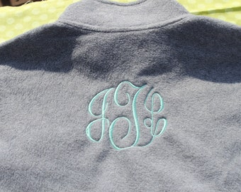 Monogram Fleece Jacket (Other Colors Available)
