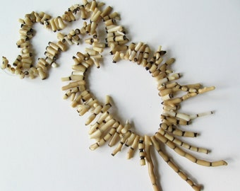 """Long strand of coral beads 24"""""""