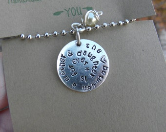 Mother Daughter Necklace; Mother son necklace