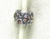 Free Shipping Authentic Pandora Brown Premrose Path CZ Charm/Everythingoff20 coupon code
