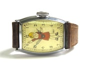 Orphan Annie Wrist Watch - Circa 1935 Harold Gray - REDUCED - Character Watch # 18
