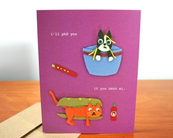 I Love You Like I Love Asian Stereotypes - Love You Card