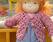 Maya - handmade waldorf rag cloth doll 19 inch