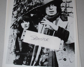 8x10 Press Photo dr who tom baker