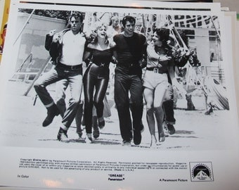 8x10 Press Photo grease john travolta