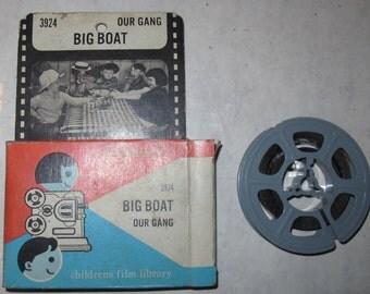 vintage 8mm our gang film reel