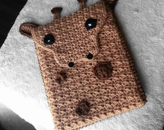 Giraffe tablet cover, ipad pro cover, ipad air2 cover, ipad mini3 cover, Ipad mini4 cover, nexus 9 cover, nook glowlight cover, tablet cover