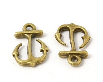 Anchor Charms Bulk Charms Wholesale Charms Nautical Charms Antiqued Bronze Charms 600pcs PREORDER
