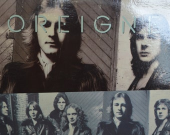 Vintage Record Foreigner: Double Vision Album SD-19999