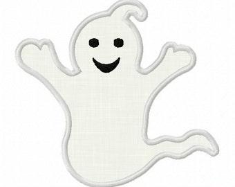 Instant Download Halloween Ghost Applique Machine Embroidery Design NO:1230
