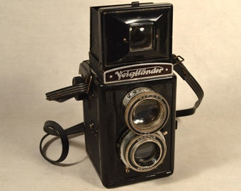 Voigtlander Camera Twin Lens Reflex Camera Brilliant TLR