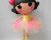 Lalaloopsy Clothes - Custom Tutu - Made to Order - You Choose the Colors - TUTU ONLY