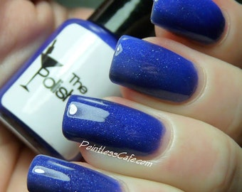Cobalt Blue Full Size Nail Polish