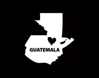 Guatemala Window Decal