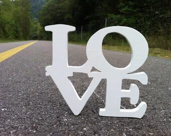 Wooden letters love. 1.5 custom