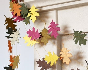 ... fall decor. Fall wedding decor. Fall garland. Thanksgiving decor