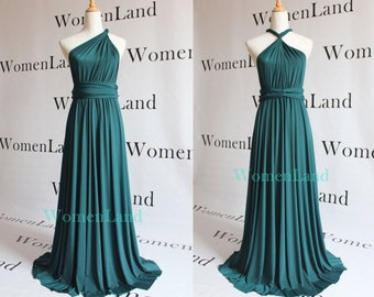 Teal bridesmaid dress | Etsy