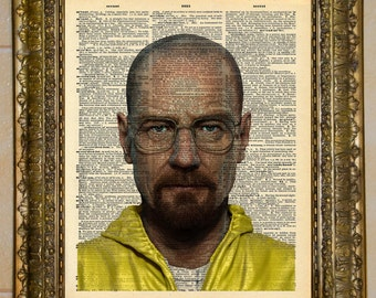 Breaking Bad Walter White Dictionary Art